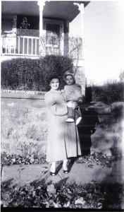 Momy and Anita 1954